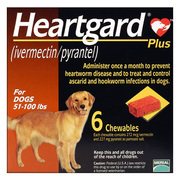 Heartgard Plus For Dogs Broad Spectrum Heartworm Preventive For Dogs
