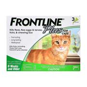 Frontline Plus For Cats - Flea and Tick Treatment | Super Summer Sale